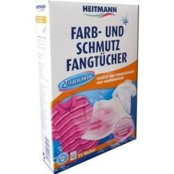 Niemieckie chusteczki wyłapujące kolor Heitmann 15