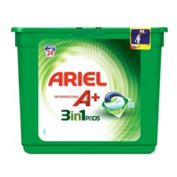 Ariel A+ kapsułki 3w1 24szt / 648g (3)[PT,ES,DK]