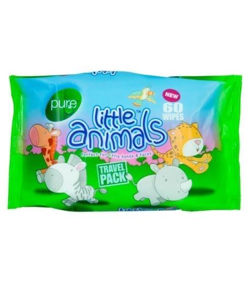 Pure Animals chusteczki dla dzieci 60szt(24)[GB]