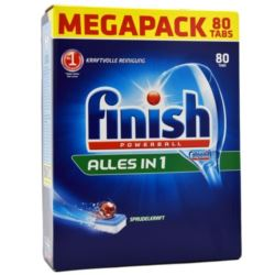 Finish do zmywarki All-in1 80szt (disp)[D,A,CH]