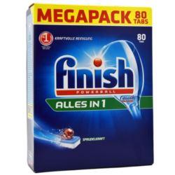 Finish do zmywarki All-in1 80szt (disp)[D,A,CH]