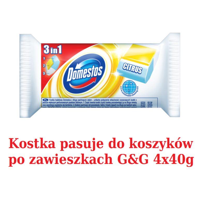 Domestos kostka WC 3w1 40g Citrus (24)[PL]
