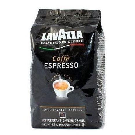 Lavazza Caffe Espresso ziarno 1kg czar.(6)