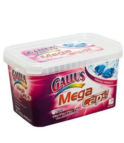 Gallus kapsułki do prania pudełko 32szt/ 960g (8)