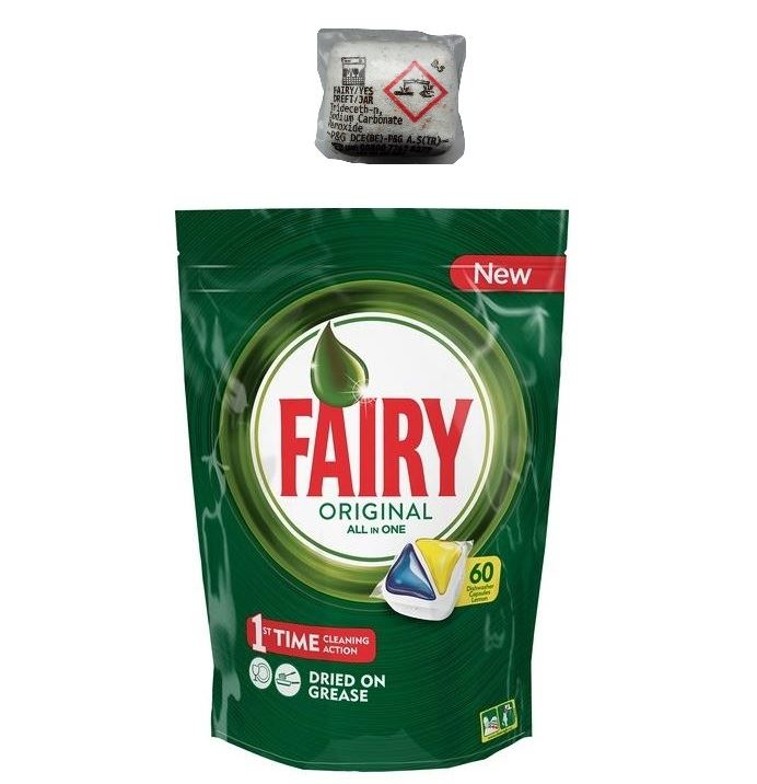 Fairy/ Dreft All in One do zmyw 60szt Lemon(4)[GB]