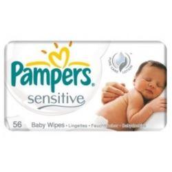 Pampers chusteczki dla dzieci 56szt Sensitive (12)