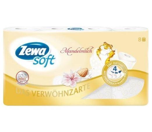 ZEWA papier toaletowy 4war. 8rol. Mandelmilch (7)