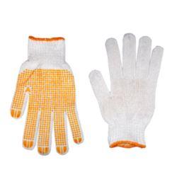 Rękawiczki nakrapiane czerwone KD620-1 (12)