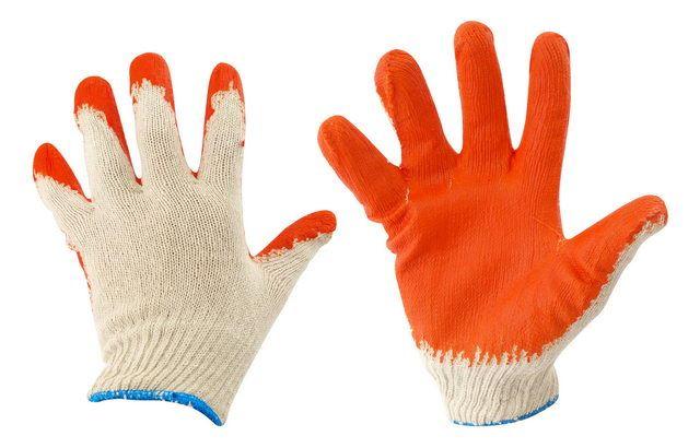 Rękawiczki pomarańczowe KD604 (12)