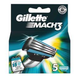 Gillette Mach 3 nożyki 5szt (10)