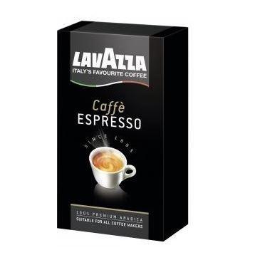 Lavazza Caffe Espresso mielona 250g czar. (20)