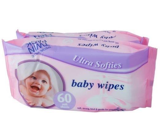 Ultra Softies chuste. dla dzieci 60+60szt(12)[GB]