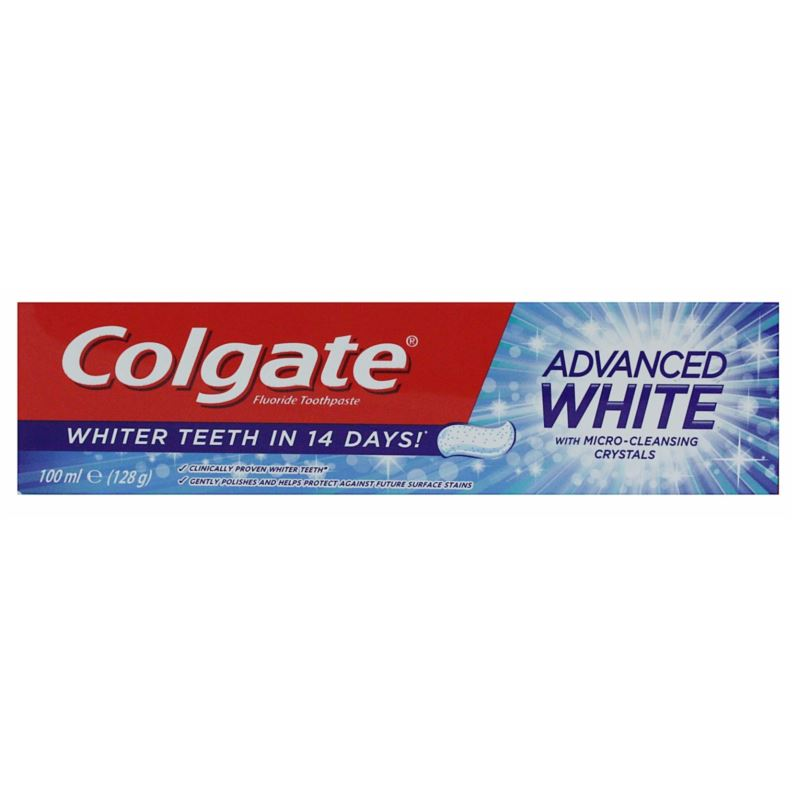 Colgate pasta 100ml Advanced White (12) [GB,F,P]