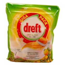 Dreft All In One do zmywarki 86szt Citrus (3)