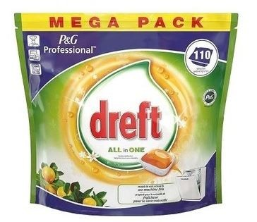 Dreft All In One kaps.do zmywarki 110szt Orange(2)
