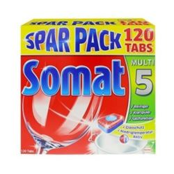 Somat tab. do zmywarki 5w1 120szt/ 2,28kg [D]