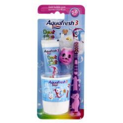 Aquafresh zestaw Kids kubek+pasta+szczot.(12)[FR]