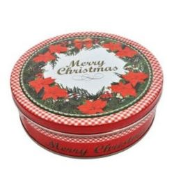 Puszka Merry Christmas ciastka kruche 340g (12)[D]