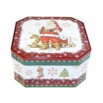 Puszka Świąteczna ciastka kruche mix 454g(12)[D]
