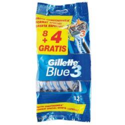 Gillette zestaw maszynek Blue3 8+4szt (20)[D,GB,F]