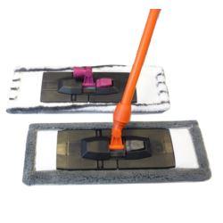 Mop płaski kij+ zapas z mikrowłókna (40)[PL]