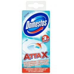 Domestos Attax żelowe plastry WC 3szt [PL]
