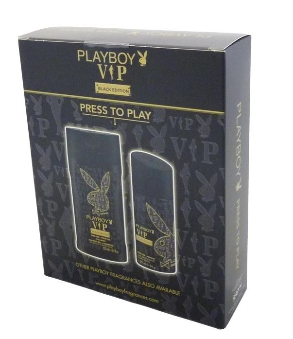 Playboy VIP zestaw deo 150ml+ żel 250ml men (6)