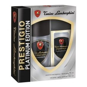 Lamborghini spray 150ml+ deo szkło 75ml PrestigioX