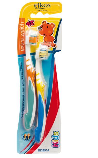Elkos Dental szczoteczka dla dzieci 2szt (9) [D]