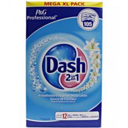 Dash proszek 105-210p/ 6,825kg Uni White Lilia[BE]