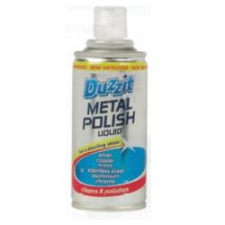 Duzzit Metal Polish Liquid do stali 180ml(12)[UK]
