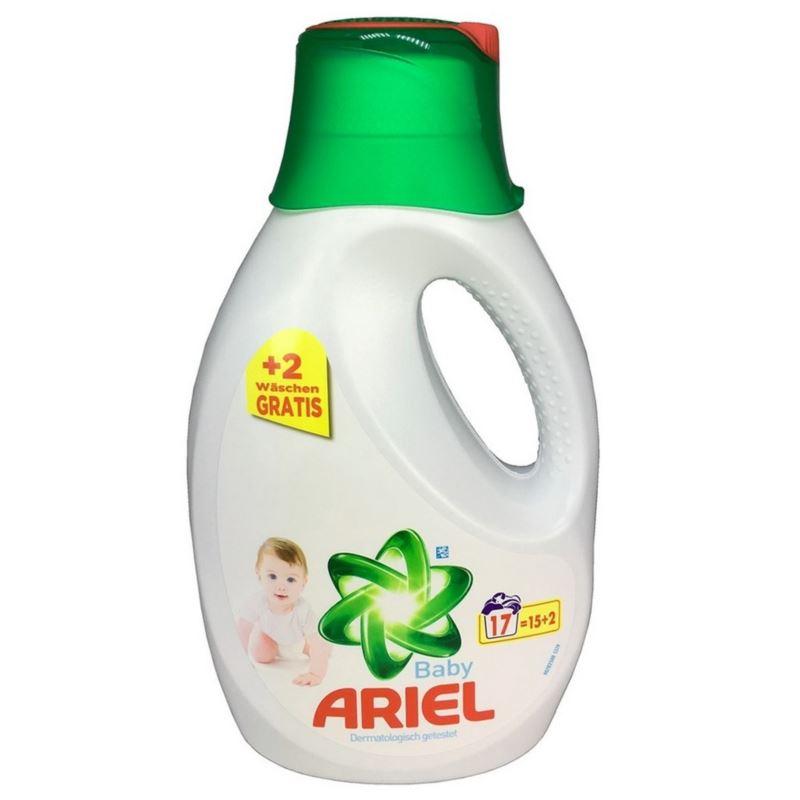 Ariel Baby żel 15+2wl/ 1,105l (4)[D]