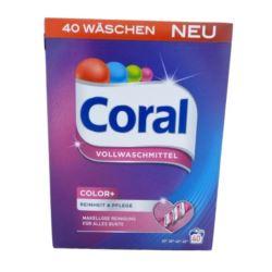 Coral proszek 40-80p/ 2,4kg Kolor [D]