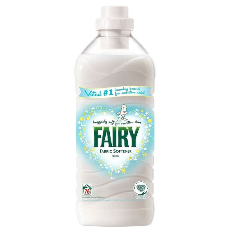Fairy do płukania 76p/ 1,9L Fabric Soften (6)[GB]