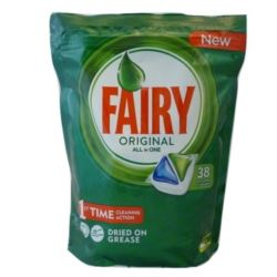 Fairy All in One 38szt do zmywarki Original(4)[GB]