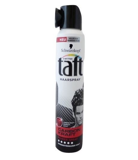 Taft lakier do włosów 200ml Carbon Kraft 5 (6) [D]