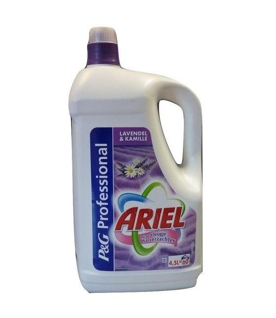 Ariel żel 60-120p/ 4,5L Rumianek& Lavenda [D,B,NL]