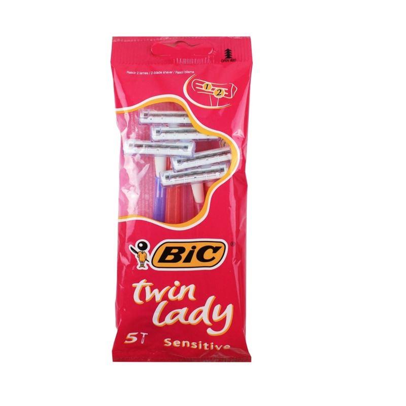 Bic maszynki Twin Lady Sensitive 5szt (20)[NL,D,F]