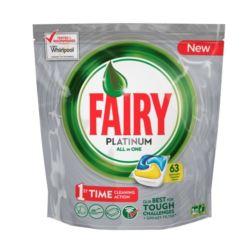 Fairy/ Dreft Platinum 63szt Lemon (3)[GB,IRL]