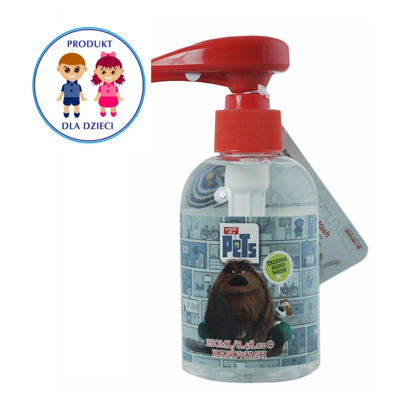 Secret Life of Pets mydło z melodią 250ml(24)[GB]