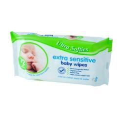 Ultra Softies chusteczki dla dzieci 72szt(12)[GB]