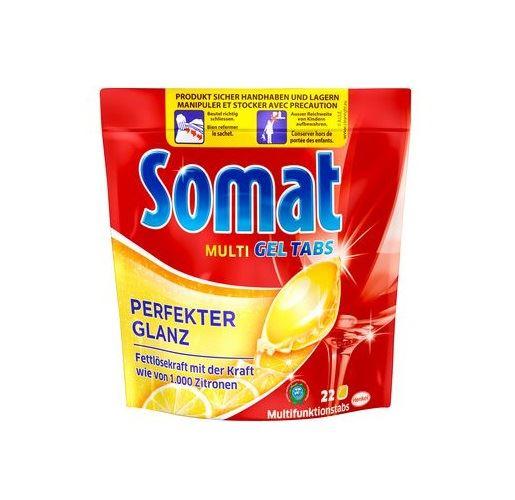 Somat kapsułki do zmywarki 22szt Lemon (5) [D,F]