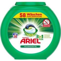 Ariel kapsułki 3w1 58szt/ 1,566kg (3)[D,AT]