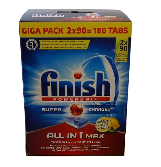 Finish All-In-MAX 2x 90szt- 180szt Citrone[FR]