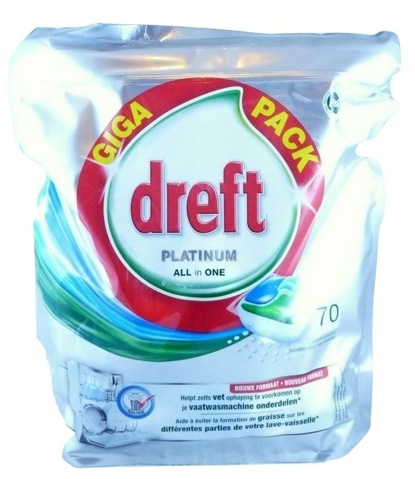 Dreft Platinum tabletki do zmywarki  70tab (3)