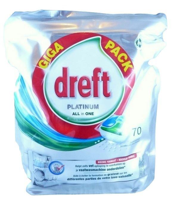 Dreft Platinum tabletki do zmywarki  70tab (3)