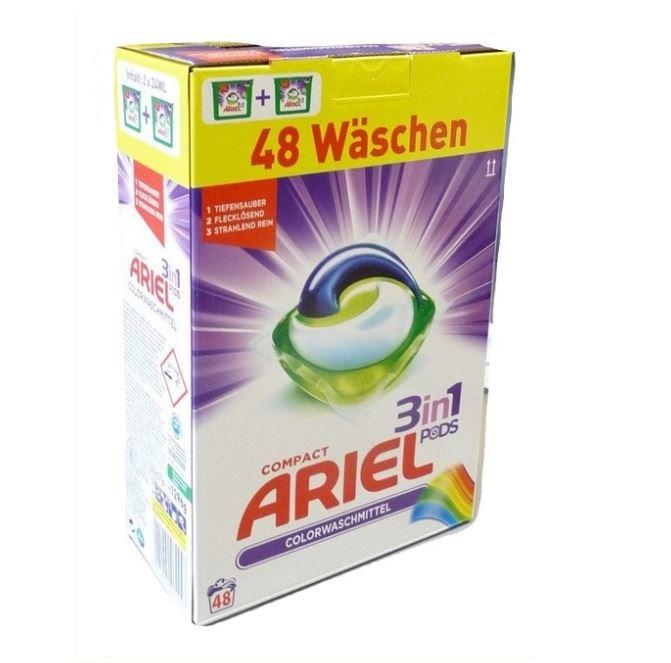 Ariel kapsułki 3w1 24+24szt/ 1,296g [D,AT]