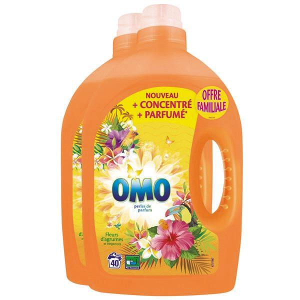 Omo żel duopack 2x40p/ 4L Citrus Flowers (2)[F]