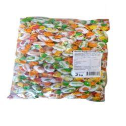 Bunte Bonbonmischung cukierki 2kg folia (4)[D]