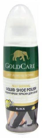 Gold Care płyn nabłyszcający do obuwia 75ml